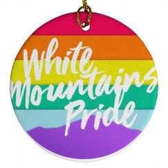 White Mountains Pride Ornament