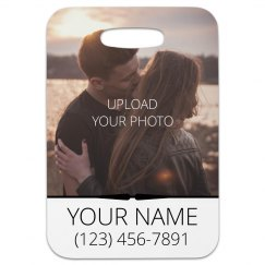 Custom Couple Photo Luggage Gift