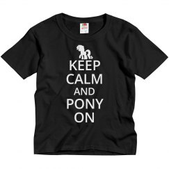 Keep calm and pony on