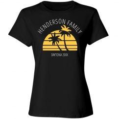 Custom Family Vacation Shirt