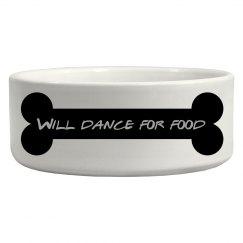 dancing dog bowl