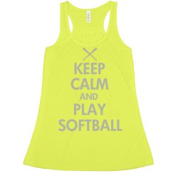 Keep Calm Softball