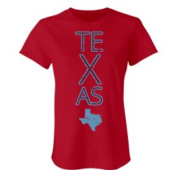 Custom Texas Text