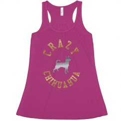 Crazy Chihuahua tank-top