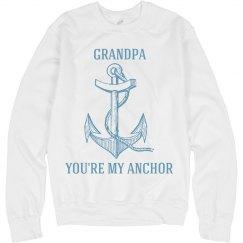 Grandpa is my anchor