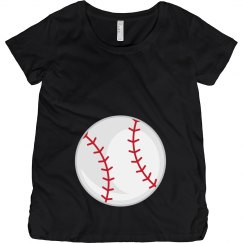 Baseball Maternity Shirt