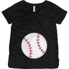 Baseball Maternity Shirt