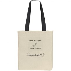 write the vision tote