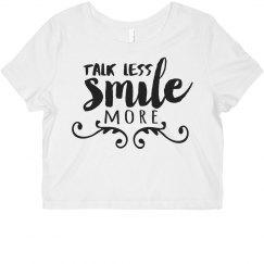 Hamilton Talk Less Smile More