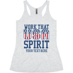 Work Your Spirit Custom Text