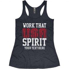 Custom Work Your Spirit Tank