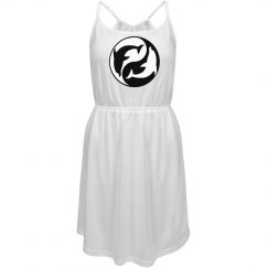 Yin Yang Dolphins Dress
