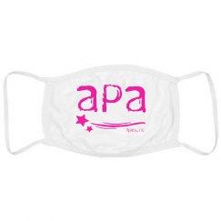 Adult Mask Pink APA