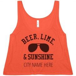 Beer, Lime, Sunshine Spring Break