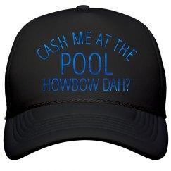 Neon Shiny Cash Me At Pool