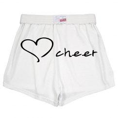 Heart cheer soffe short