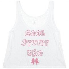 Cool Stunt Bro Cheer Crop