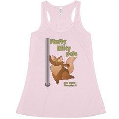 Fluffy Kitty Flowy Tank