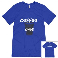 Coffee Chat blue- men