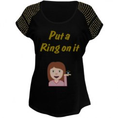 Put a ring on it party shirt