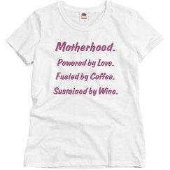 Motherhood tee