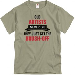 Old Artist never die