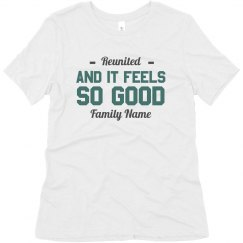 Add Your Family Name Reunited Tee