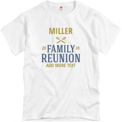Custom Family Cookout Reunion Tee