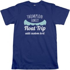 Custom Canoeing Trip Shirt