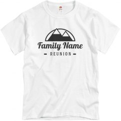 Family Name Mountain Reunion Tee