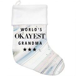 My Grandma's Xmas Stocking