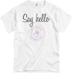 Say hello - Tee