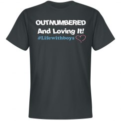 Outnumbered (Soft Unisex Shirt)
