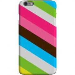 Color stripes phone case.