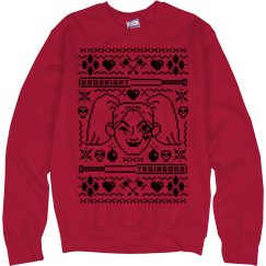 Red And Black Harley Ugly Sweater