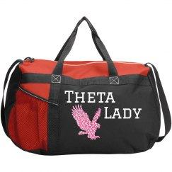 Theta Duffle bag