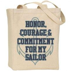 Sailor Anchor Tote