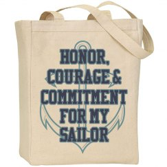 Sailor Anchor Tote