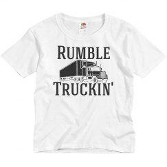 Rumble Truckin' Basic Youth Shirt