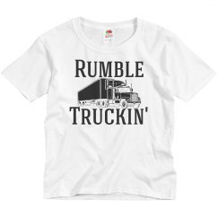 Rumble Truckin' Basic Youth Shirt