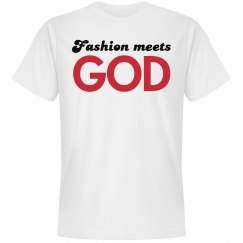 Fashion Meets God Tee