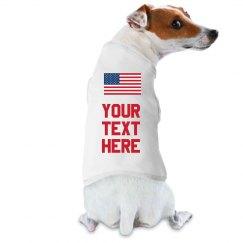 Custom 4th of July Dog Shirts