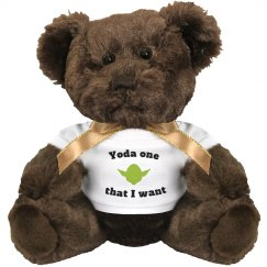 Yoda one I want - bear