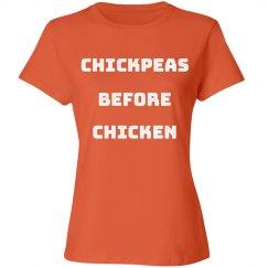 Vegetarian Chickpeas Before Chicken