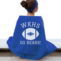 Custom Stadium Blanket High School Football