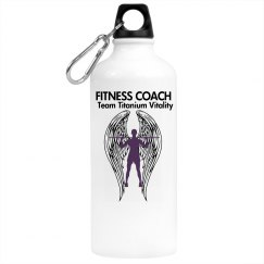 Coach water bottle