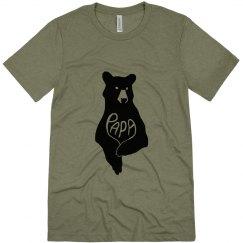 Father's Day Papa Bear Shirt