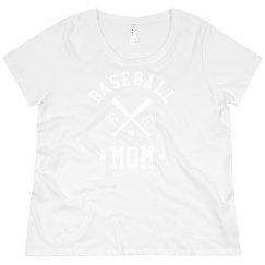 Custom Baseball Mom Plus Pullover