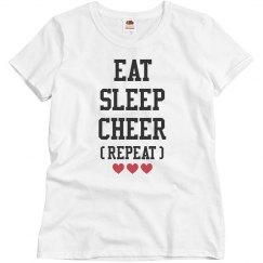 Eat, Sleep, Cheer, Repeat