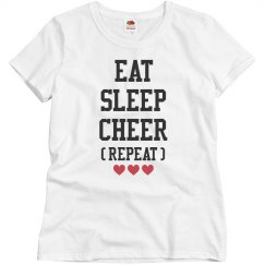 Eat, Sleep, Cheer, Repeat